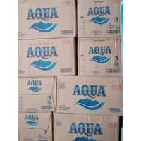 Aqua air mineral 600 ml isi 24 botol