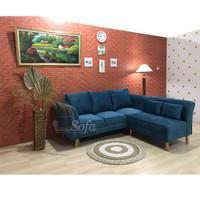 Sofa Ruang Tamu Modesty L Putus Minang Retro Eco