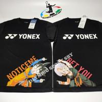 kaos Yonex Dragon ball hitam