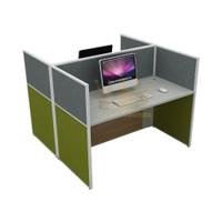 Meja Partisi 2 Configurasi / Meja Kerja 2 Orang / Meja Partisi Kantor