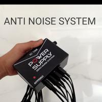 adaptor power supply efek gitar 8 chanel