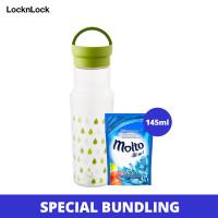 LocknLock x Unilever - Tritan Botol Air Minum 500ML ABF692 (Molto)