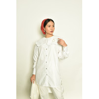 SIDELINE - Melly White Shirt - Maola Series