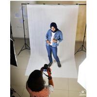 Background foto alas foto Ekonomis - Bahan non woven/kanvas