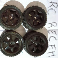 ban rally offroad RC 1:10 + velg hex 6mm