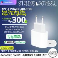 Apple 20W USB-C Power Adaptor MHJF3 Original Charger iPhone 12 11