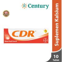 Calcium D Redoxon Fruit Punch 10 Tab @460mg / CDR / Vitamin C