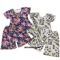 Set Kylie Anak uk 1-2 Tahun / Baju Perempuan Atasan Bawahan Kulot