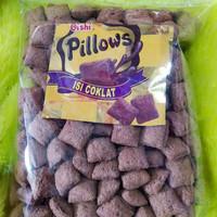 Pillow coklat 250gr jajan makanan ringan Snack camilan manis coklat