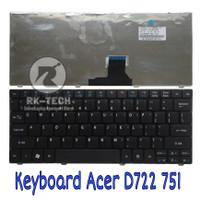 Keyboard acer Aspire One 751 751H ZA3 ZA5 715 752 753 753H 722 721