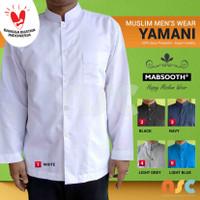 New Model! Baju Koko Lengan Panjang Polos - Kemeja Pria Muslim / Jasko