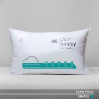 Bantal Tidur Nyaman Ekonomis LAZY Sunday , BEST DEAL !! Good Quality