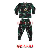 Setelan Anak Loreng Army Baju Celana Panjang Malvinas Raider