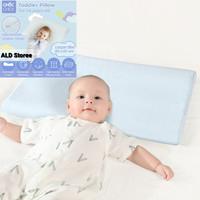 Choc Chick Toddler Pillow Dual Height Memory Foam-Bantal Anak bayi - Blue