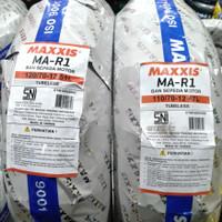 Ban Vespa sepasang MAXXIS MA-R1 110/70-12 &120/70 ring 12 Tubeles Soft