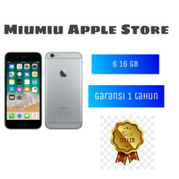 Apple Iphone 6 16GB Garansi Distributor PLATINUM