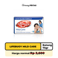 Lifebuoy Mild Care Sabun Batang 75gr Batang