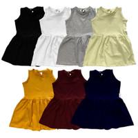 DRESS SLEEVELESS BAYI ANAK 1-5 Y - black, 5y