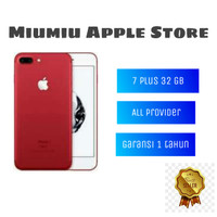 Iphone 7 plus 32GB garansi distributor PLATINUM