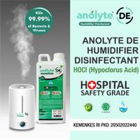 Anolyte Humidifier. Air Purifier Diffuser. Cairan Disinfektan 1 Liter