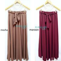 ROK TALI PAYUNG fit s-xxl Umbrella Panjang Muslimah Skirt