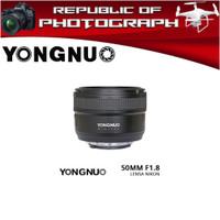 LENSA YONGNUO YN-50MM F1.8 FOR NIKON/LENSA FIX YONGNUO 50MM
