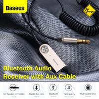 Bluetooth Receiver Adapter Audio Baseus Kabel Aux 3.5