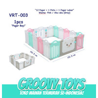 Baby Fence Pagar Bayi Babyroom Pagar Playground (12+2) VRT-003