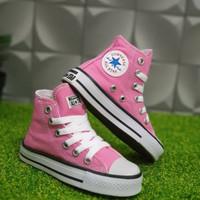 sepatu bayi perempuan Converse clasic pink size 18-25 - 18