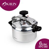 KIRIN PRESSURE COOKER 6 LITER KPC-060