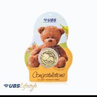 Emas UBS Angpao 24k Baby Bear Edition 0,2gr