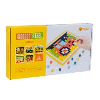 Puzzle Kayu Pixel Mosaik / Wooden Puzzle Pixel Space