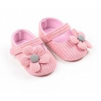 (0-15 bln) SEPATU BAYI / SEPATU BABY / PREWALKERS SHOES BAYI PEREMPUAN - Pink, 11 (0-5 bln)