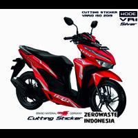 Cutting Sticker Lis Body Motor Honda Vario 150 Merah Kode VR1