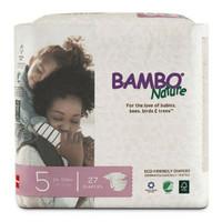 bambo bamboo Nature 5 tapes perekat isi 27 diapers