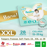Pampers Premium Care Pants - Popok Celana XXL28 / XXL 28 /XXL-28