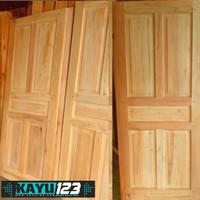 Daun Pintu Kayu Mahoni Murah 80x190 cm