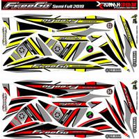 Sticker Variasi Motor Freego Semifull