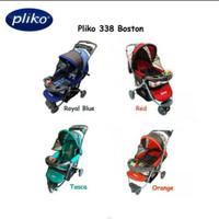 Pliko Boston Baby Strollers Stoller Stroler Kereta Dorong Bayi