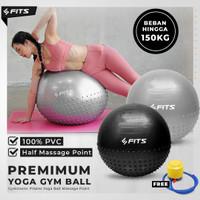 SFIDN FITS Gymnastic Pilates Yoga Ball Massage Point 65 cm Gym Ball