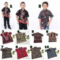 Batik Anak Laki Laki - Baju Batik Anak Murah - Kemeja Batik Anak