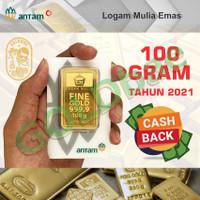 Logam Mulia Emas Antam 100 Gram/gr Certicard/Certieye ~ GOLDbae ®
