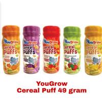YOUGROW CEREAL PUFF 49 G | snack bayi | snack anak | makanan bayi