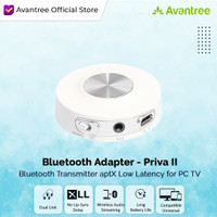 Avantree Bluetooth Transmitter Music Audio Adapter - Priva II