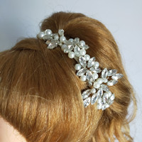 Bride Wedding Hair Accessories AR021 / Headpiece / Aksesoris crystal