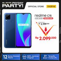 realme C15 4/64GB [6000mAh, 18W Quick Charge, Ultra-Wide Quad Camera]