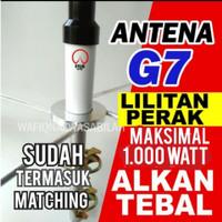 ANTENA G7 VHF LILITAN PERAK BAHAN ALKAN