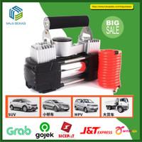 Kompresor Mini Pompa Ban Mobil Bus Truk Portable Double Silinder