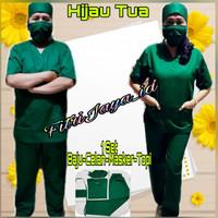 Baju oka perawat pria dan wanita-baju bidan-baju tindakan-baju operasi