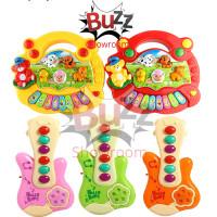 Mainan Edukasi Bayi Animal Farm Piano Musik Binatang